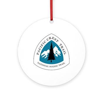 Pacific Crest Trail, California Round Ornament