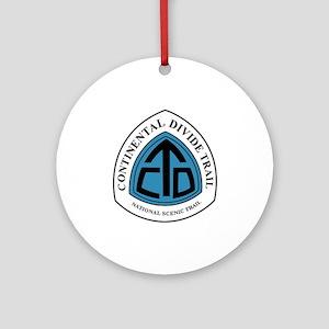 Continental Divide Trail, Colorado Round Ornament