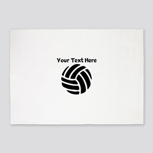 Volleyball 5'x7'Area Rug