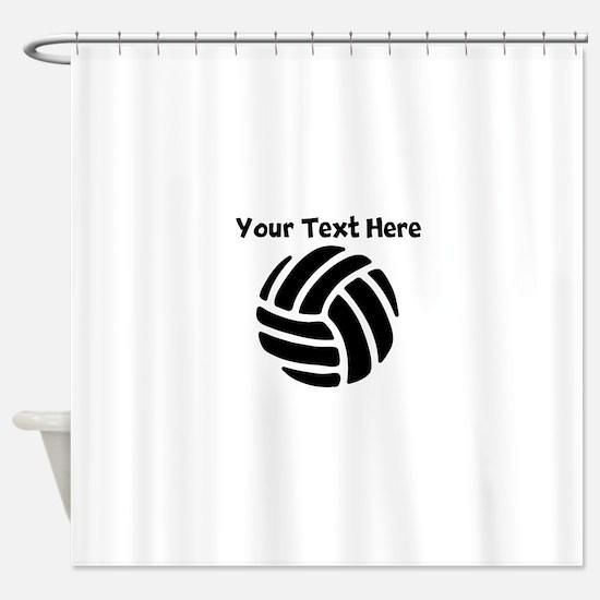 Volleyball Shower Curtain