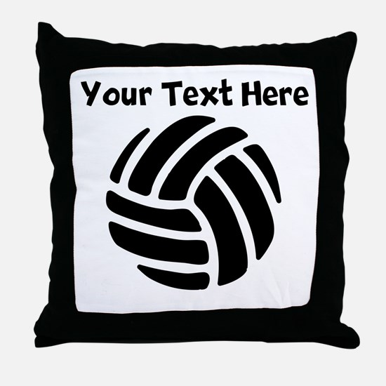 Volleyball Throw Pillow