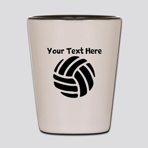 Volleyball Shot Glass