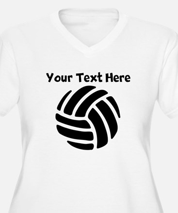Volleyball Plus Size T-Shirt