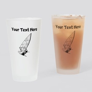 Windsurfing Drinking Glass