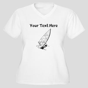 Windsurfing Plus Size T-Shirt