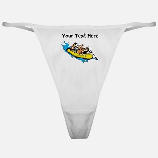 White Water Rafting Classic Thong