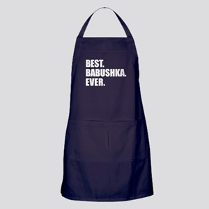 Best. Babushka. Ever. Apron (dark)