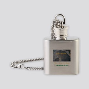 FIND THE GIRL. HER NAME IS KISSY. Flask Necklace