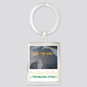 FIND THE GIRL. HER NAME IS KISSY Portrait Keychain
