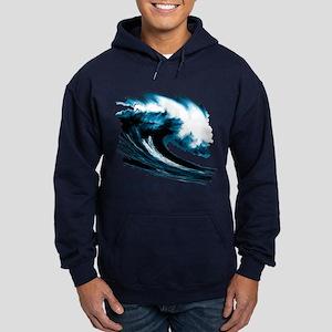 Surfer Slang: Mavericks Hoodie (dark)