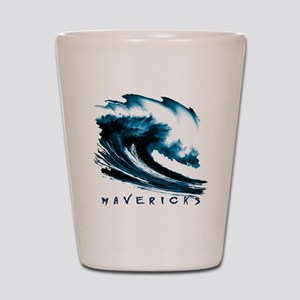 Surfer Slang: Mavericks Shot Glass