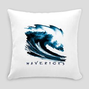 Surfer Slang: Mavericks Everyday Pillow