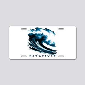 Surfer Slang: Mavericks Aluminum License Plate
