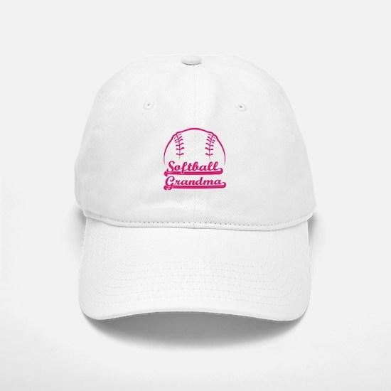 SOFTBALL GRANDMA Baseball Baseball Cap