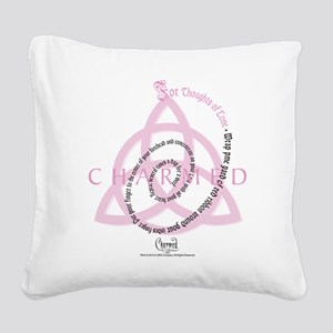 Charmed: Love Spell Square Canvas Pillow