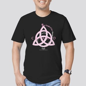 Charmed: Love Spell Men's Fitted T-Shirt (dark)