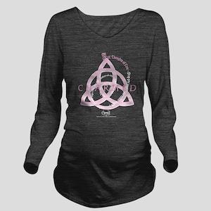 Charmed: Love Spell Long Sleeve Maternity T-Shirt