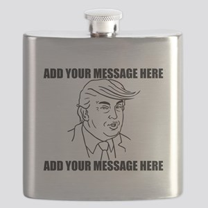 PERSONALIZED Donald Trump 2016 Election Flask