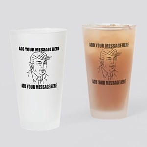 PERSONALIZED Donald Trump 2016 Election Drinking G