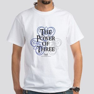 Charmed: The Power of Three Heart White T-Shirt