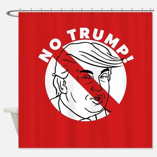 No Trump Shower Curtain