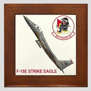 494 Fighter SQ Framed Tile
