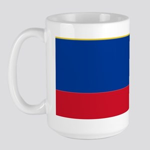 Falg of Colombia Large Mug