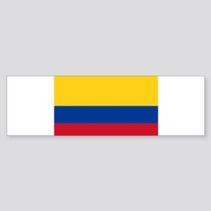 Falg of Colombia Bumper Sticker