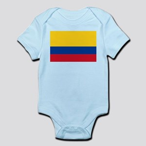 Falg of Colombia Body Suit