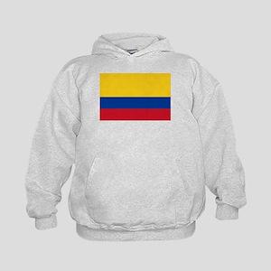 Falg of Colombia Kids Hoodie