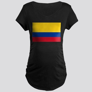 Falg of Colombia Maternity T-Shirt
