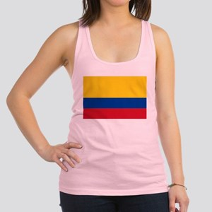 Falg of Colombia Racerback Tank Top