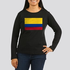 Falg of Colombia Long Sleeve T-Shirt