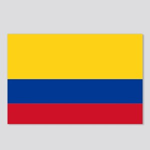Falg of Colombia Postcards (Package of 8)