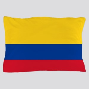 Falg of Colombia Pillow Case