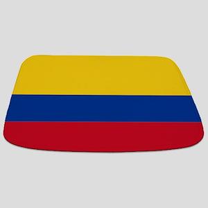 Falg of Colombia Bathmat