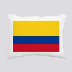 Falg of Colombia Rectangular Canvas Pillow