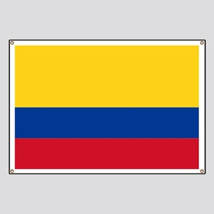 Falg of Colombia Banner