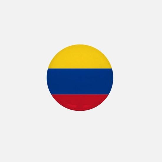 Falg of Colombia Mini Button