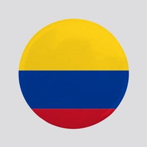 Falg of Colombia Button