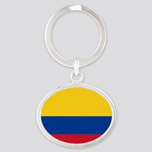 Falg of Colombia Keychains