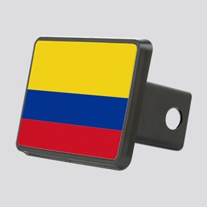 Falg of Colombia Rectangular Hitch Cover