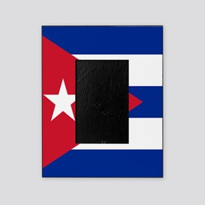 cuban flag Picture Frame