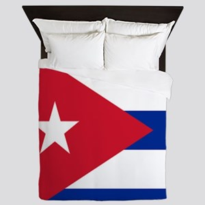 cuban flag Queen Duvet