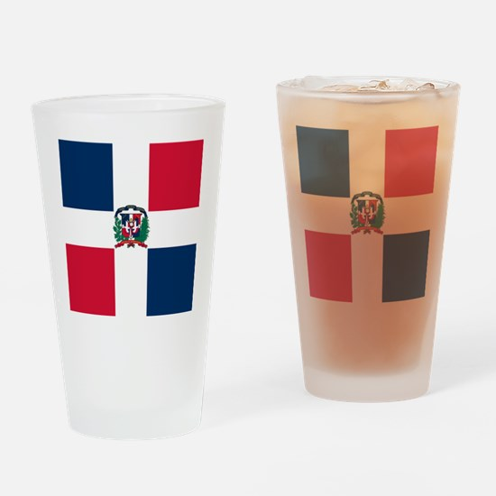 Dominican Republic Drinking Glass