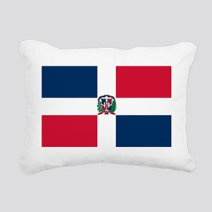 Dominican Republic Rectangular Canvas Pillow