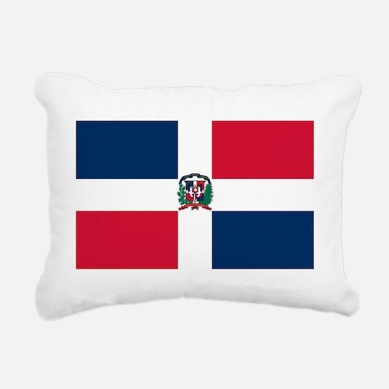 Dominican Republic Rectangular Canvas Pillow