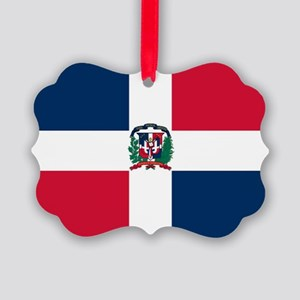 Dominican Republic Picture Ornament