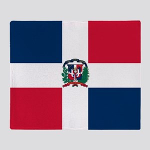 Dominican Republic Throw Blanket