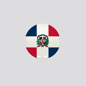 Dominican Republic Mini Button